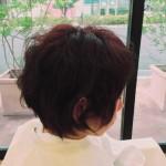 くせ毛を生かしてショートスタイル✨